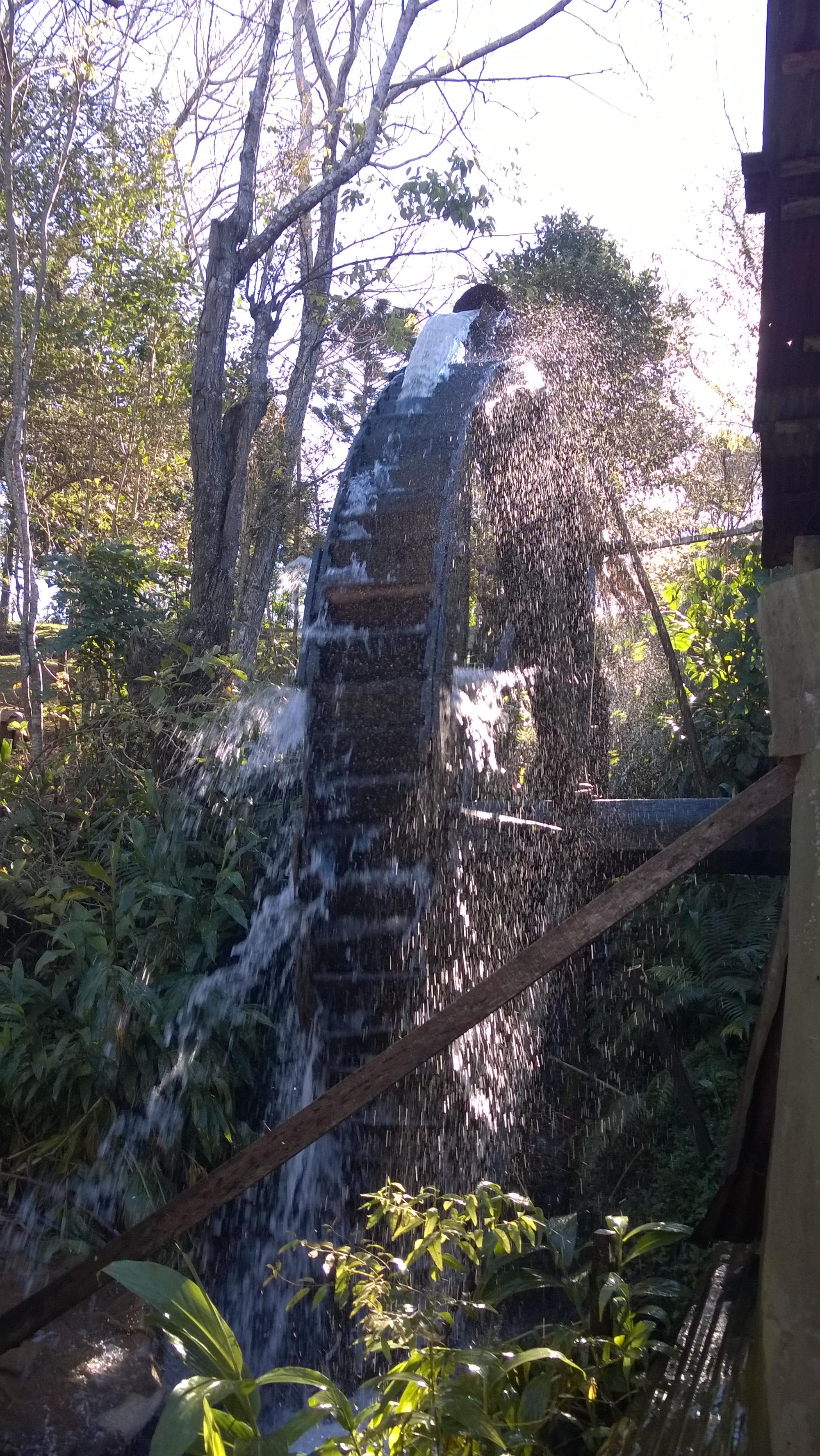 yerba mate - water powered mill